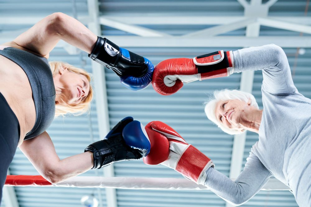 Kickboxing per anziani
